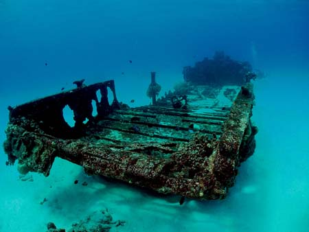 saipan wreck diving