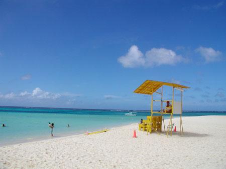 マニャガハのビーチ