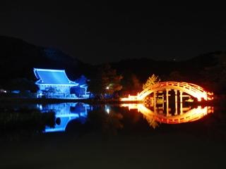 ライトアップ称名寺