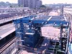 星川駅改装中20060520