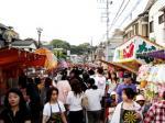 浅間神社のお祭り