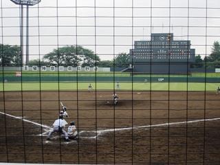 慶応藤沢の藤本投手の力投