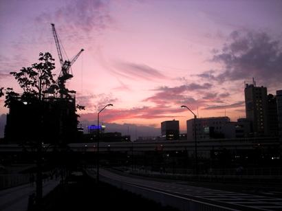 みなとみらい夕景 20060902
