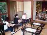 写経 in 長谷寺