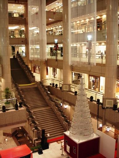 ランドマークプラザ クリスマスツリー点灯式 2006