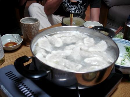 水餃子パーティー