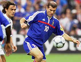 Zizou in Euro2000