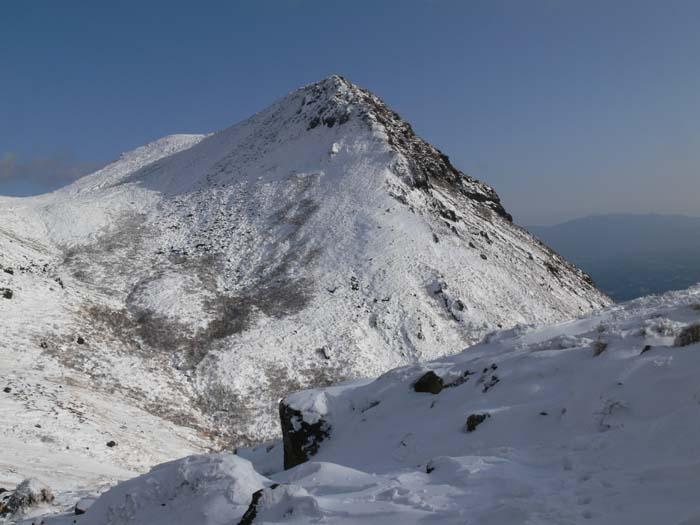冬の久住山