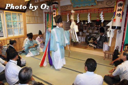 神楽舞 榊舞