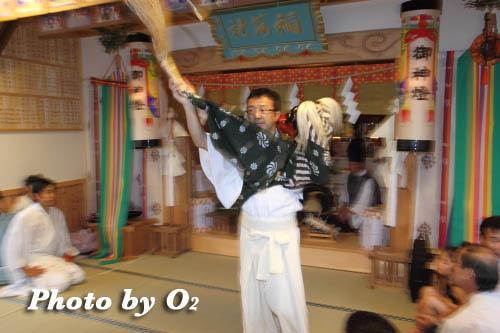 神楽舞 獅子舞