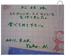 924Yukoさん手作り1