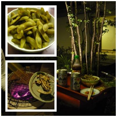 焼き松茸と牛タン2