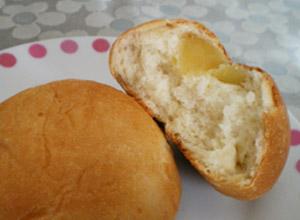温泉パンりんご2
