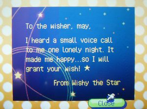 お星様の手紙