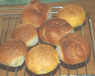 薄力粉たっぷりパン