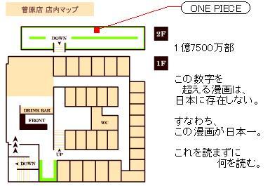ONEPIECE本棚位置4