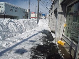 平成24年2月27日(月) 大雪(><)