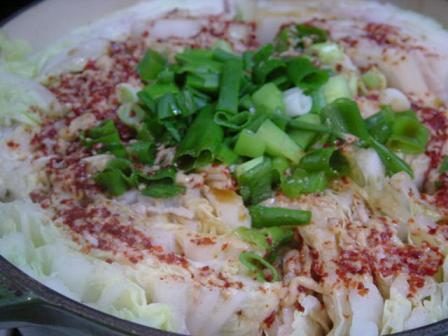 白菜と豚バラの担々鍋