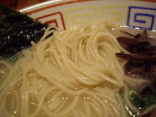 九州大牟田 柳屋ラーメン 白柳屋ラーメン(麺)