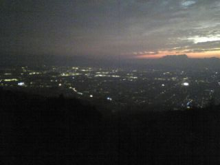 龍王山夜景
