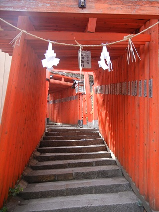 稲成神社鳥居