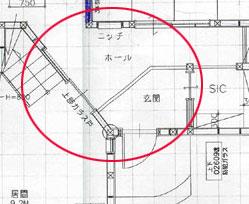 型枠玄関図面