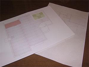 模型床の柄