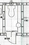 1222トイレ図面2階-2
