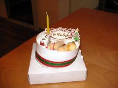 みかん満4歳!ケーキを買ってもらったよ