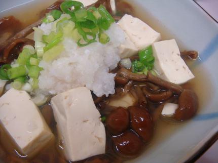 ぬくみ豆腐