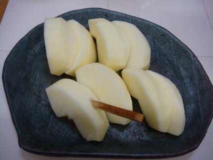 実家のりんご2