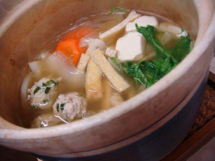 ニラ団子鍋2