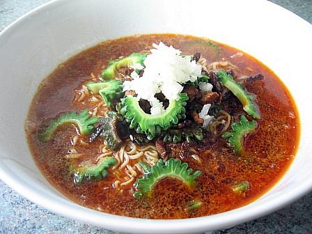 ゴーヤ坦々麺