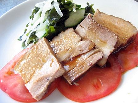 豚ばら肉の紅茶煮
