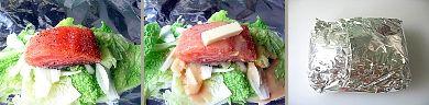 鮭のちゃんちゃん風味噌バターホイル焼き2