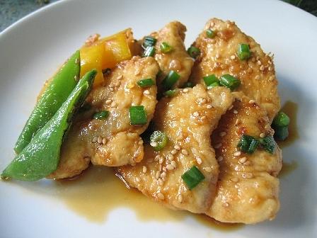 鶏肉の韓国風焼きびたし