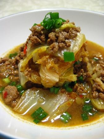 ひき肉と白菜の中華風トロトロ煮