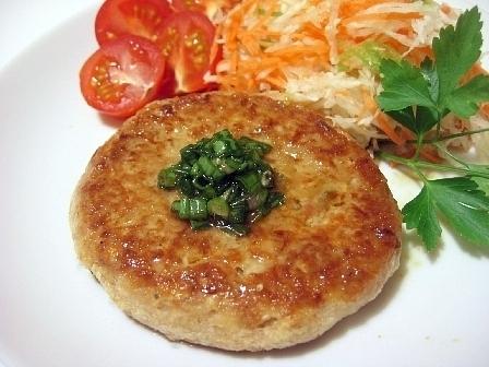 ツナ豆腐ハンバーグ