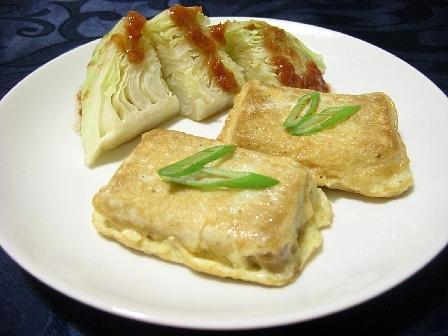高野豆腐のピカタ