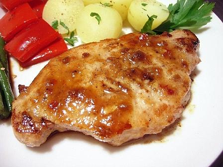 豚肉のピリカラ味噌焼き