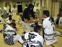09.10.16 東田太鼓台の晩飯