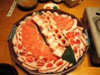 2011.10.26 黒豚の豚シャブ