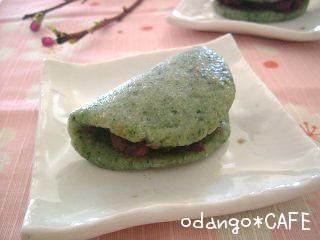 おから入り♪だんご粉で作るカンタン桜餅