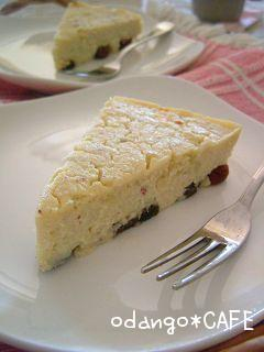甘味料なし★酒粕スイートチーズケーキ