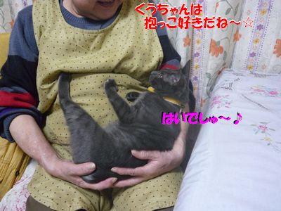 くうちゃんは抱っこすきだね~☆