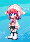 ピンク羊ニットセット(女)