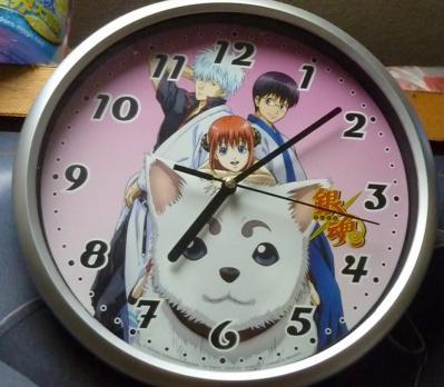 銀魂 壁時計