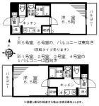 間取図(成増3丁目新築賃貸マンション:レチタティーボ)