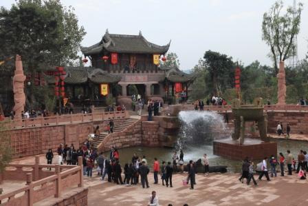 黄龍渓古鎮1