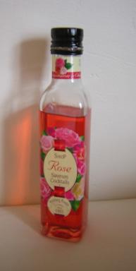 rose sirop